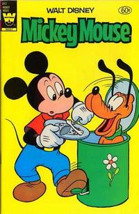 Cover Thumbnail for Mickey Mouse (Western, 1962 series) #217