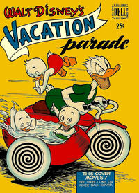 Cover Thumbnail for Walt Disney's Vacation Parade (Dell, 1950 series) #1