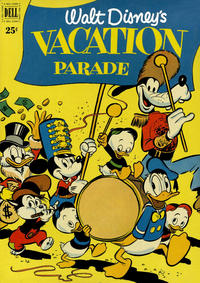 Cover Thumbnail for Walt Disney's Vacation Parade (Dell, 1950 series) #2