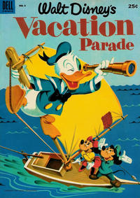 Cover Thumbnail for Walt Disney's Vacation Parade (Dell, 1950 series) #4