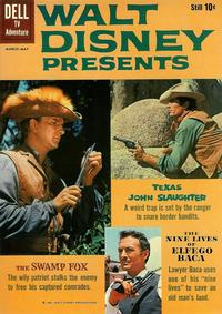Cover for Walt Disney Presents (Dell, 1959 series) #3