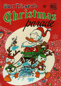Cover Thumbnail for Walt Disney's Christmas Parade (Dell, 1949 series) #1