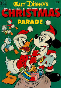 Cover Thumbnail for Walt Disney's Christmas Parade (Dell, 1949 series) #3