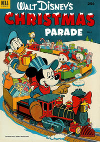 Cover Thumbnail for Walt Disney's Christmas Parade (Dell, 1949 series) #4