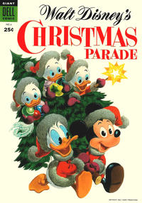 Cover Thumbnail for Walt Disney's Christmas Parade (Dell, 1949 series) #6