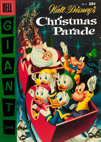 Cover Thumbnail for Walt Disney's Christmas Parade (Dell, 1949 series) #8