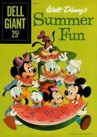 Cover Thumbnail for Walt Disney's Summer Fun (Dell, 1959 series) #2