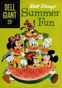Cover Thumbnail for Walt Disney's Summer Fun (Dell, 1959 series) #2