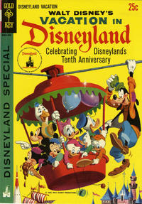 Cover Thumbnail for Walt Disney's Vacation in Disneyland (Western, 1965 series) #1