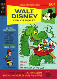 Cover Thumbnail for Walt Disney Comics Digest (Western, 1968 series) #11