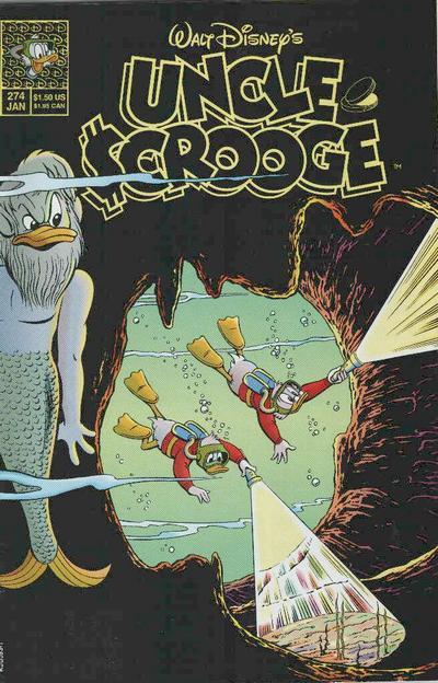 Cover for Walt Disney's Uncle Scrooge (Disney, 1990 series) #274