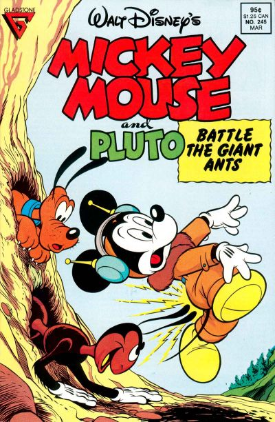 Cover for Mickey Mouse (Gladstone, 1986 series) #245