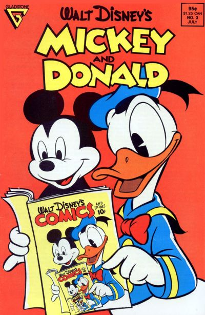 Cover for Walt Disney's Mickey and Donald (Gladstone, 1988 series) #3