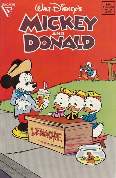 Cover for Walt Disney's Mickey and Donald (Gladstone, 1988 series) #13