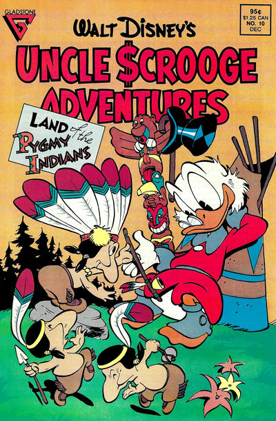 Cover for Walt Disney's Uncle Scrooge Adventures (Gladstone, 1987 series) #10 [Direct]