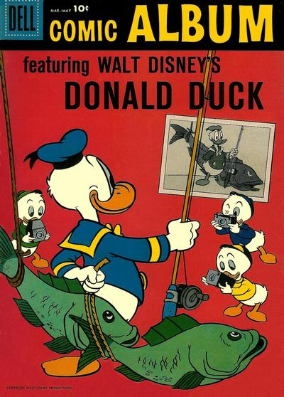 Cover for Comic Album (Dell, 1958 series) #1