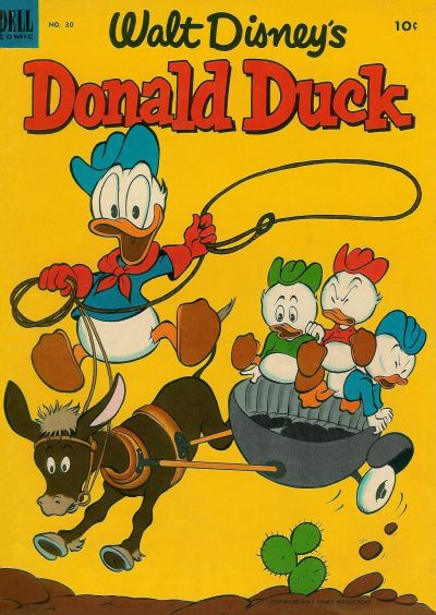 Cover for Donald Duck (Dell, 1952 series) #30