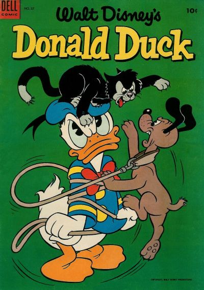 Cover for Donald Duck (Dell, 1952 series) #37