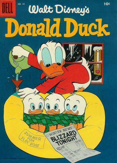 Cover for Donald Duck (Dell, 1952 series) #44