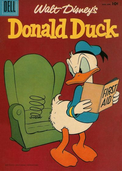 Cover for Donald Duck (Dell, 1952 series) #52