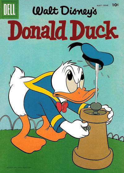 Cover for Donald Duck (Dell, 1952 series) #59