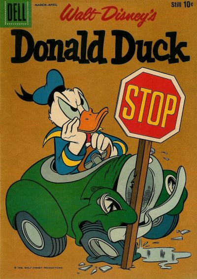 Cover for Donald Duck (Dell, 1952 series) #64