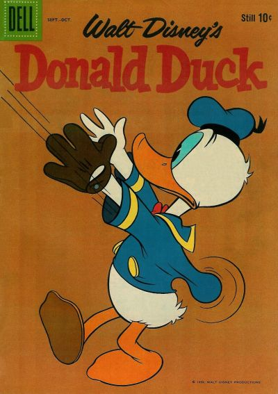 Cover for Donald Duck (Dell, 1952 series) #67