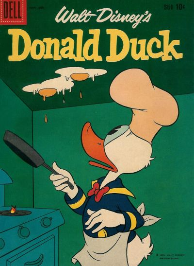 Cover for Donald Duck (Dell, 1952 series) #68