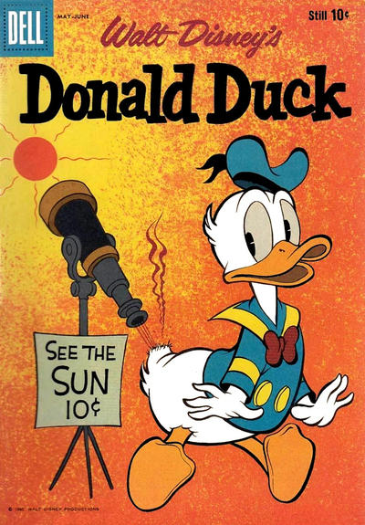 Cover for Donald Duck (Dell, 1952 series) #71