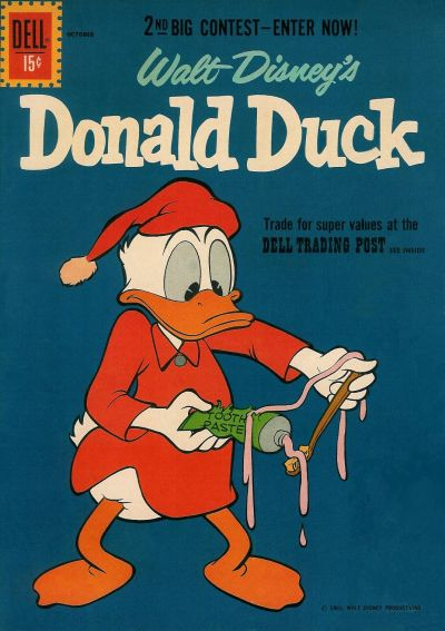 Cover for Donald Duck (Dell, 1952 series) #79