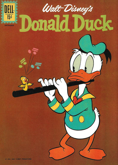 Cover for Donald Duck (Dell, 1952 series) #80