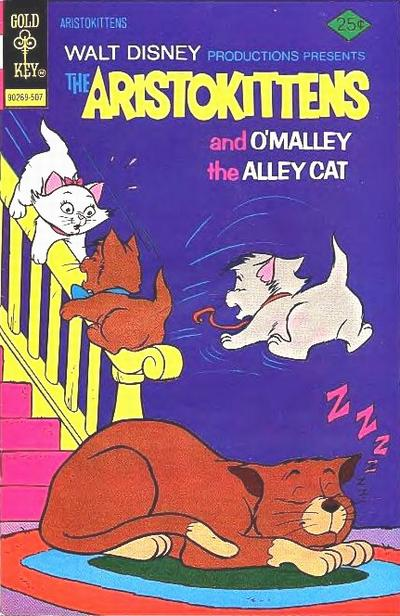 Cover for Walt Disney Productions Presents The Aristokittens (Western, 1972 series) #8