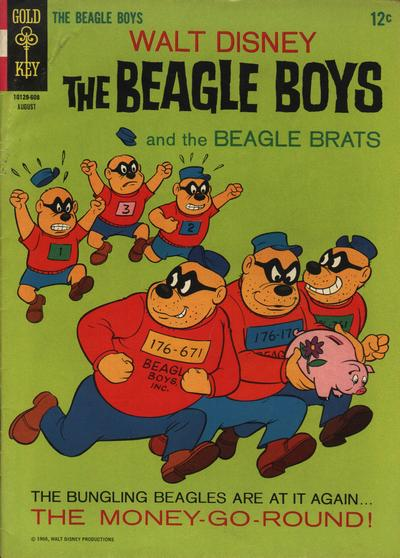 Cover for Walt Disney The Beagle Boys (Western, 1964 series) #3