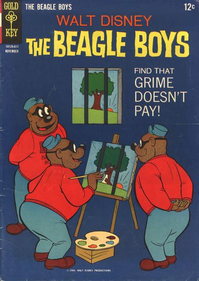 Cover for Walt Disney The Beagle Boys (Western, 1964 series) #4