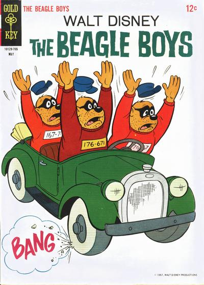 Cover for Walt Disney The Beagle Boys (Western, 1964 series) #6