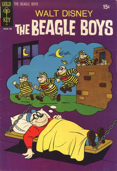 Cover for Walt Disney The Beagle Boys (Western, 1964 series) #12