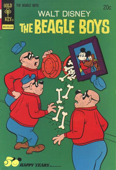 Cover for Walt Disney The Beagle Boys (Western, 1964 series) #18 [Gold Key Variant]