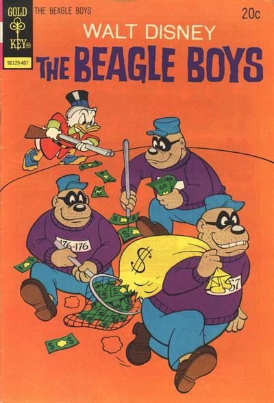 Cover for Walt Disney The Beagle Boys (Western, 1964 series) #21 [Gold Key]