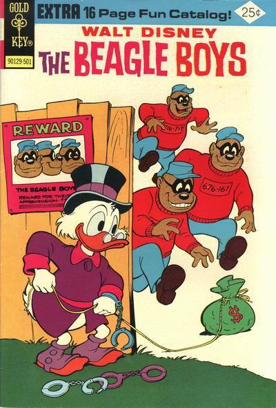 Cover for Walt Disney The Beagle Boys (Western, 1964 series) #23 [Gold Key]