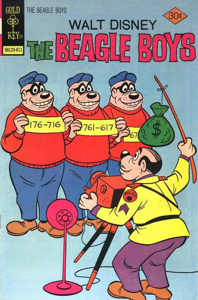 Cover for Walt Disney The Beagle Boys (Western, 1964 series) #32 [Gold Key]