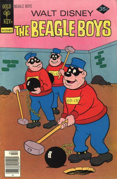Cover for Walt Disney The Beagle Boys (Western, 1964 series) #40