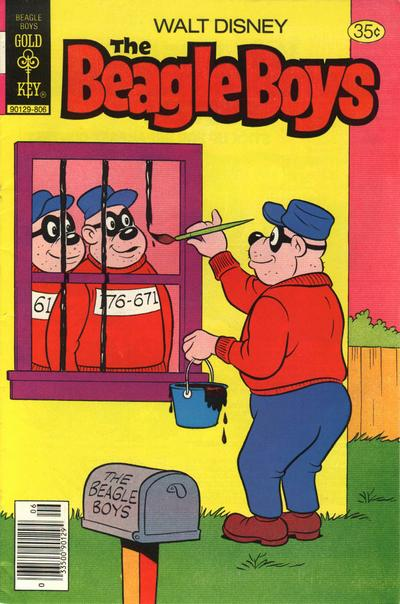 Cover for Walt Disney The Beagle Boys (Western, 1964 series) #42