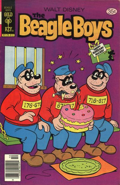Cover for Walt Disney The Beagle Boys (Western, 1964 series) #45 [Whitman Variant]