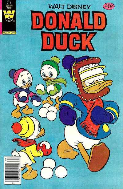 Cover for Donald Duck (Western, 1962 series) #218