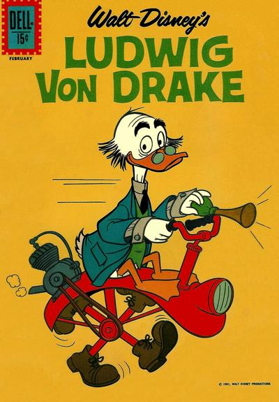 Cover for Ludwig Von Drake (Dell, 1961 series) #2