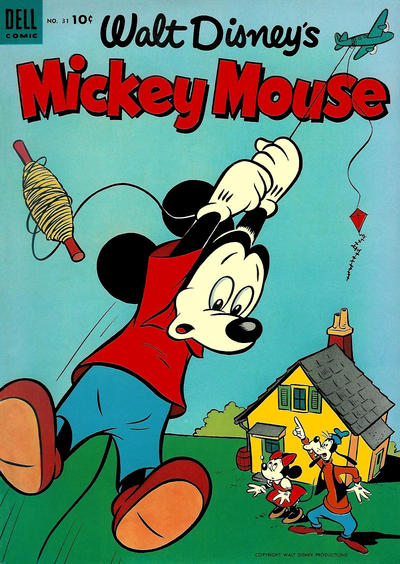 Cover for Mickey Mouse (Dell, 1952 series) #31