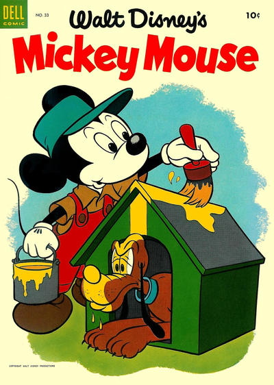 Cover for Mickey Mouse (Dell, 1952 series) #33