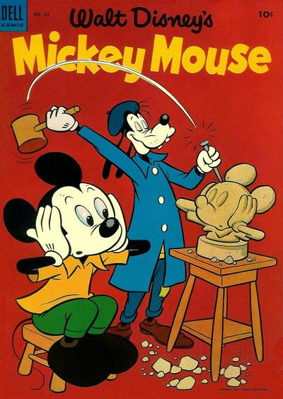 Cover for Mickey Mouse (Dell, 1952 series) #35