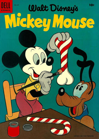 Cover for Mickey Mouse (Dell, 1952 series) #39