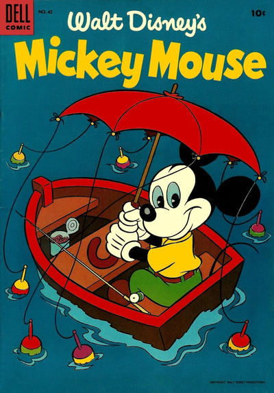 Cover for Mickey Mouse (Dell, 1952 series) #42